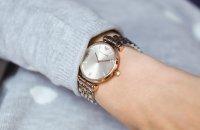 Emporio Armani AR1840 Ladies fashion/modowy zegarek różowe złoto