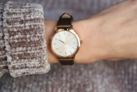zegarek Esprit ES109292004 różowe złoto Damskie