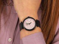 Zegarek damski fashion/modowy  Bransoleta 45L164 szkło mineralne - duże 6