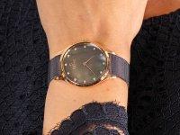 Obaku Denmark V217LXVNMN FIN - WALNUT zegarek fashion/modowy Slim