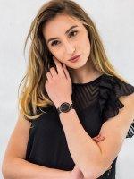 Zegarek damski fashion/modowy Bering Ceramic 11435-166 szkło szafirowe - duże 4