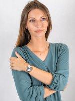 Zegarek damski fashion/modowy Cluse La Boheme CW0101201006 Rose Gold/Silver szkło mineralne - duże 4