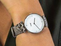 Cluse CL61009 Silver White Pearl/Soft Grey Python Jungle zegarek fashion/modowy Triomphe