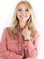 Zegarek damski fashion/modowy DKNY Bransoleta NY2308 SOHO szkło mineralne - duże 8