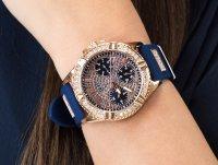 Zegarek damski fashion/modowy Guess Pasek W1160L3 szkło mineralne - duże 6