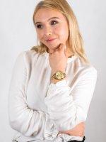 Zegarek damski fashion/modowy Michael Kors Mini Bradshaw MK5798 MINI BRADSHAW szkło mineralne - duże 4