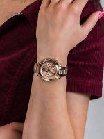 Zegarek damski fashion/modowy Michael Kors Mini Bradshaw MK5799 MINI BRADSHAW szkło mineralne - duże 5