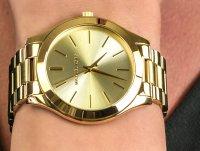 Zegarek damski fashion/modowy Michael Kors Runway MK3179 SLIM RUNWAY szkło mineralne - duże 6
