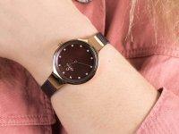zegarek Obaku Denmark V173LXVNMN różowe złoto Slim