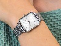 Zegarek damski fashion/modowy Rosefield Boxy QWSS-Q02 Boxy szkło mineralne - duże 6