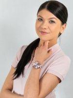 Zegarek damski fashion/modowy Thom Olson Message CBTO013 Message Pink Kiss szkło mineralne - duże 4