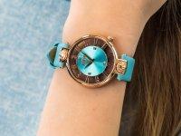 Zegarek damski fashion/modowy Versus Versace Damskie VSP490418 KIRSTENHOF szkło mineralne - duże 6