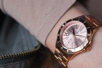 Festina F16926-2 zegarek różowe złoto klasyczny Mademoiselle bransoleta