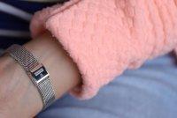 Festina F16950-F zegarek srebrny klasyczny Mademoiselle bransoleta