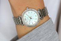 Fossil ES4647 CARLIE MINI Carlie klasyczny zegarek srebrny