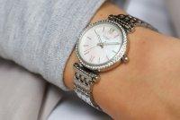 Fossil ES4647 zegarek damski klasyczny Carlie bransoleta