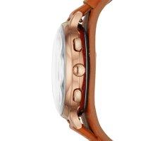 Zegarek Fossil Smartwatch smartwatches HYBRID SMARTWATCH ELEANOR TAN LEATHER - damski  - duże 4