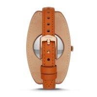 Zegarek Fossil Smartwatch smartwatches HYBRID SMARTWATCH ELEANOR TAN LEATHER - damski  - duże 5