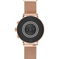 Fossil Smartwatch FTW6031 zegarek różowe złoto fashion/modowy Fossil Q bransoleta