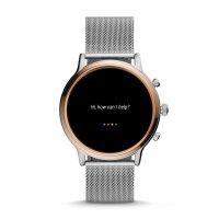 Fossil Smartwatch FTW6061 zegarek srebrny fashion/modowy Fossil Q bransoleta