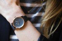 Fossil ES4312 zegarek niebieski klasyczny Neely bransoleta