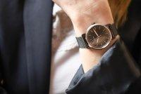 Fossil ES4467 zegarek czarny klasyczny Neely bransoleta