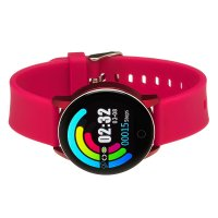 Garett 5903246286342 zegarek srebrny sportowy Damskie pasek