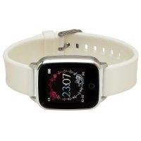 zegarek Garett 5903246286403 kwarcowy damski Damskie Smartwatch Garett Lady Viki biały