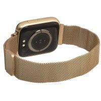 zegarek Garett 5903246287080 kwarcowy damski Damskie Smartwatch Garett Women Eva RT złoty stalowy