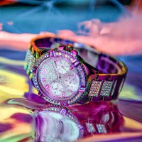 Guess GW0044L1 zegarek damski Bransoleta wielokolorowy