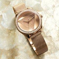 Zegarek damski Guess  bransoleta W1142L4 - duże 5