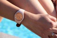ICE Watch ICE.016985 zegarek brązowy klasyczny Ice-Duo pasek