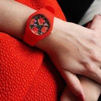 ICE Watch ICE.017577 ICE Flower Floral passion Rozm.M Ice-Flower fashion/modowy zegarek czerwony