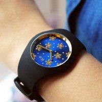 ICE Watch ICE.017579 zegarek czarny fashion/modowy Ice-Flower pasek