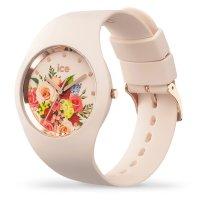 ICE Watch ICE.017583 zegarek beżowy klasyczny Ice-Flower pasek