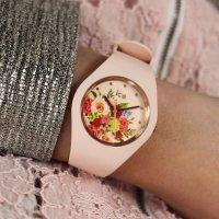 ICE Watch ICE.017583 Ice-Flower ICE Flower Pink bouquet Rozm. M zegarek damski klasyczny mineralne