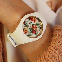 ICE Watch ICE.FL.LEG.S.S.15 zegarek biały fashion/modowy Ice-Flower pasek