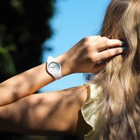 ICE Watch ICE.015341 dla dzieci zegarek Ice-Glam pasek