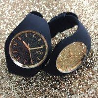 zegarek ICE Watch ICE.001355 ICE glitter black gold rozm. M Ice-Glitter mineralne