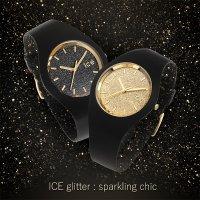 zegarek ICE Watch ICE.001356 kwarcowy damski Ice-Glitter ICE glitter black rozm. M