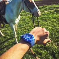 ICE Watch ICE.014234 zegarek niebieski fashion/modowy ICE-Sixty nine pasek