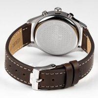 zegarek Jacques Lemans 1-2067C męski z chronograf Retro Classic