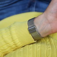 Joop 2022840 Bransoleta klasyczny zegarek srebrny
