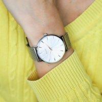 Joop 2022888 Bransoleta klasyczny zegarek srebrny