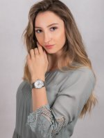 Zegarek damski klasyczny  Bransoleta P21032.51B3QFZ szkło mineralne - duże 4