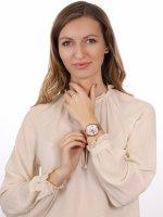 Zegarek damski klasyczny  Full Bloom TW2U19500 szkło mineralne - duże 4