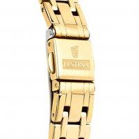 Festina F20383-2 zegarek złoty klasyczny Mademoiselle bransoleta