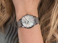 Zegarek damski klasyczny  Slim V217LXCWMC FIN - STEEL szkło mineralne - duże 6