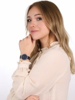 Zegarek damski klasyczny  Sunset S700LXCLML szkło mineralne - duże 9