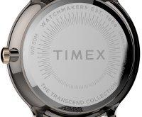Timex TW2T74700 zegarek szary klasyczny Transcend bransoleta